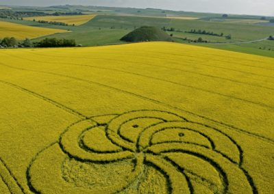 Silbury Hill, Wiltshire | 29th April 2011 | Oilseed Rape L