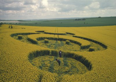 Furze Knoll, Wiltshire | 7th May 1994 | Oilseed Rape P 35mm Neg Scan