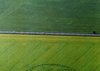 Stonehenge, Wiltshire | 9th June 1997 | Barley L 35mm Neg Scan