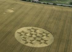 Silbury Hill, Wiltshire   24th July 2000   Wheat L 35mm