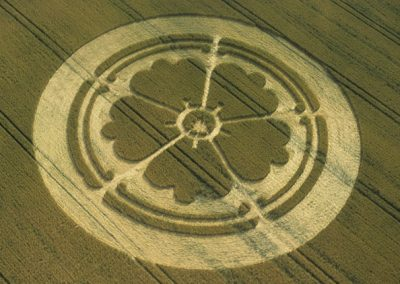 Beckhampton, Wiltshire   24th July 2001   Wheat 35mm