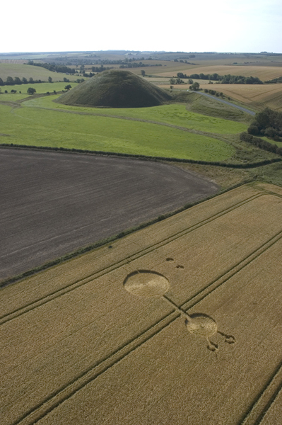 Silbury Hill, Wiltshire | August 2004 | Wheat