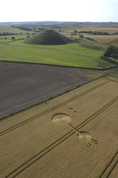 Silbury Hill, Wiltshire | August 2004 | Wheat
