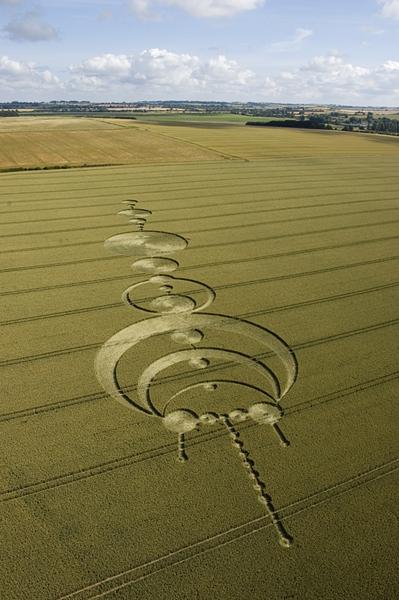 Windmill Hill, Wiltshire | 17th July 2004 | Wheat L