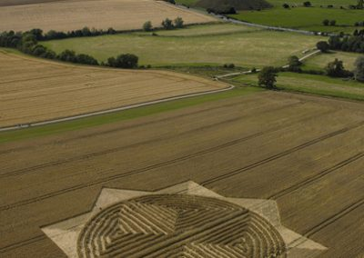 West Kennett Wiltshire | 30th July 2004 | Wheat L