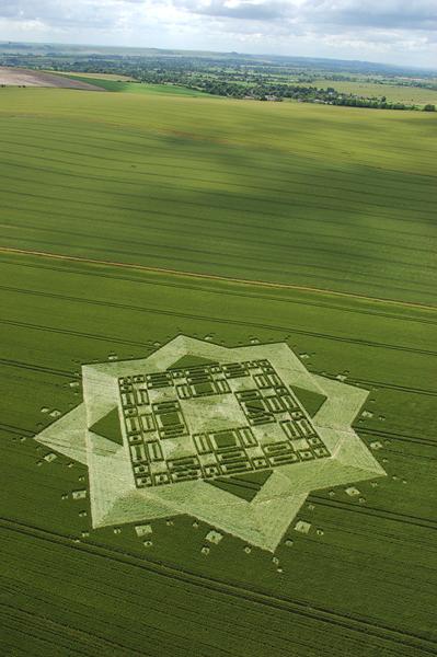 East Field Alton Barnes, Wiltshire | 3rd July 2005 | Wheat L