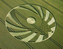 Silbury Hill,  Wiltshire | 9th July 2005 | Wheat OH