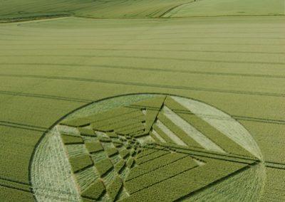West Kennett Longbarrow, Wiltshire | 28th June 2007 | Wheat L
