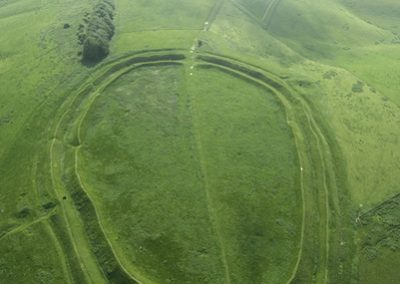 Barbury Castle Hill Fort, Wiltshire | 1st June 2008 | L