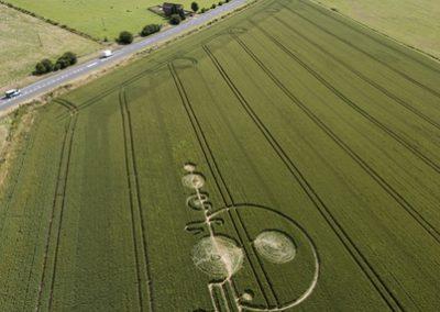 The Sanctuary near Avebury, Wiltshire | 1st July 2008 | Wheat L