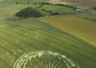 Silbury Hill, Wiltshire | 5th July 2009 | Wheat L