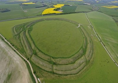 Yarnbury Castle Hillfort, Wiltshire | 16th May 2010 | HF
