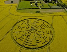 Wilton Windmill, Wiltshire | 22nd May 2010 | Oilseed Rape L
