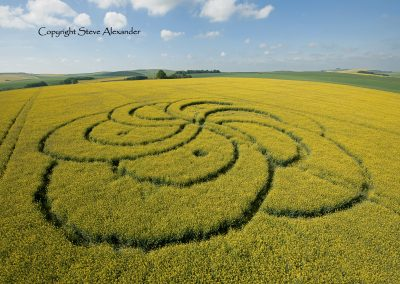 Silbury Hill, Wiltshire | 29th April 2011 | Oilseed Rape LOW2