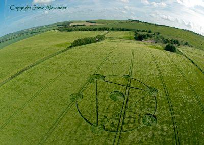 Burderop Down near Barbury Castle, Wiltshire | 22nd May 2011 | Barley FE