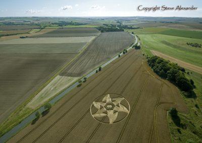 Knoll Down near Beckhampton, Wiltshire | 13th August 2011 | Wheat L2