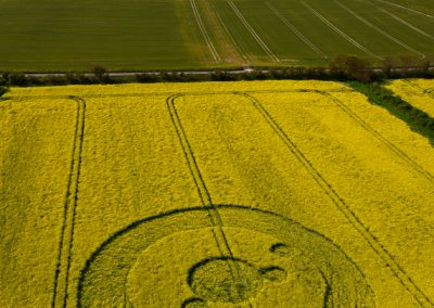 Uffington White Horse, Oxfordshire | 19th May 2012 | Oilseed Rape