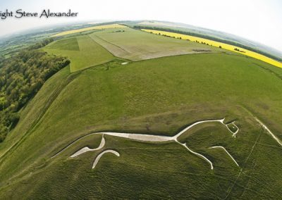 Uffington White Horse, Oxfordshire | 22nd May 2012 | FE