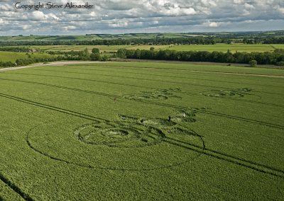 Woodborough Hill, Wiltshire | 9th June 2012 | Wheat L6