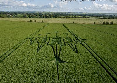 Stanton St Bernard, Wiltshire | 29th June 2012 | Wheat L4