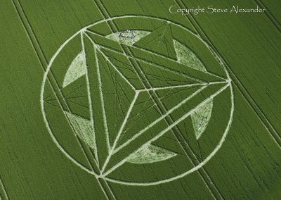 Wanborough Plain near Liddington, Wiltshire | 1st July 2012 | Wheat OH
