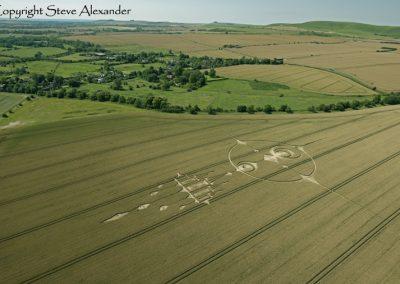 Stanton St Bernard, Wiltshire | 20th July 2012 | 3rd Stage Wheat L2