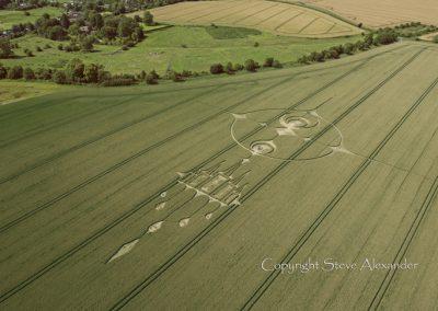 Stanton St Bernard, Wiltshire | 20th July 2012 | 3rd Stage Wheat L3