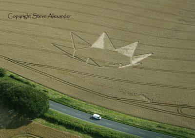 Longwood Warren near Winchester, Hampshire | 23rd July 2012 | Wheat RS2