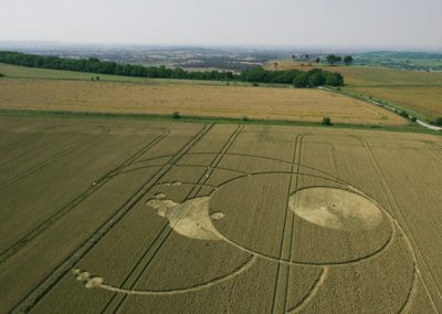 Olivers Castle, Wiltshire | 26th July 2012 | Wheat L2