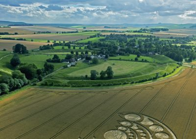 Avebury Stone Circle, Wiltshire | 1st August 2012 | Wheat L