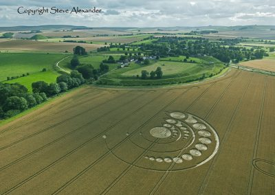 Avebury Stone Circle, Wiltshire | 1st August 2012 | Wheat L2