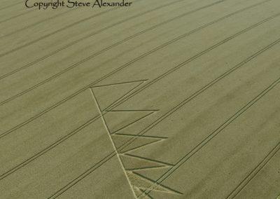 Longwood Rd near Owslebury, Hampshire | 5th August 2012 | Wheat L