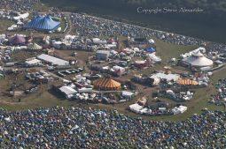 Cheesefoot Head near Winchester, Hampshire   10th Aug 2012   Boomtown Fair