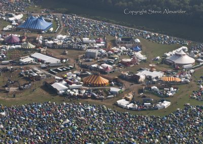 Cheesefoot Head near Winchester, Hampshire | 10th Aug 2012 | Boomtown Fair