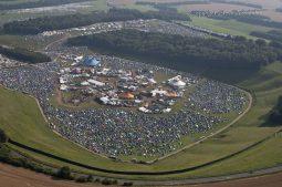 Cheesefoot Head near Winchester, Hampshire   10th Aug 2012   Boomtown Fair 2
