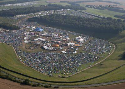 Cheesefoot Head near Winchester, Hampshire | 10th Aug 2012 | Boomtown Fair 2
