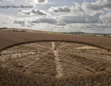 Bishops Cannings near Devizes, Wiltshire | 11th August 2012 | Wheat LOW