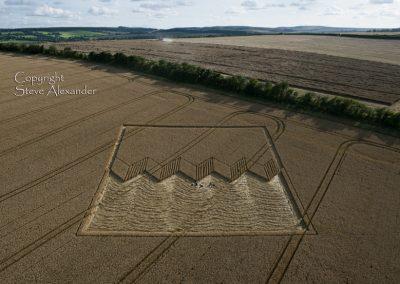 Devils Den near Fyfield, Wiltshire | 12th August 2012 | Wheat L