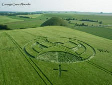 Silbury Hill, Wiltshire | 25th June 2013 | Barley L