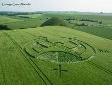 Silbury Hill, Wiltshire | 25th June 2013 | Barley L