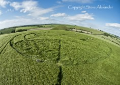 Silbury Hill, Wiltshire | 25th June 2013 | Barley P