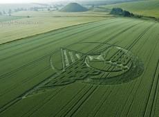 Silbury Hill, Wiltshire | 7th July 2013 | Wheat L