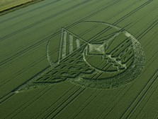 Silbury Hill, Wiltshire | 7th July 2013 | Wheat L2