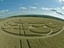 Monument Hill Etchilhampton, Wiltshire | 6th August 2013 | Wheat P
