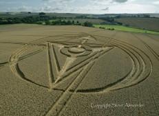West Kennett Longbarrow, Wiltshire | 13th August 2013 | Wheat L