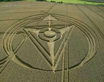 West Kennett Longbarrow, Wiltshire | 13th August 2013 | Wheat OH2