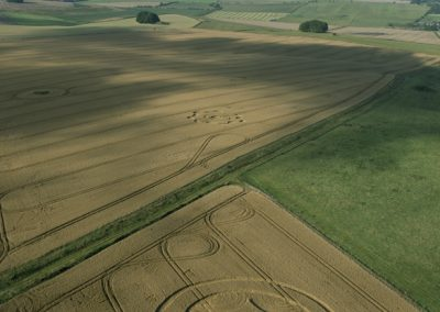 Green Street nr Avebury, Wiltshire | 8th August 2014 | Wheat |L2