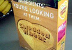 Shredded Wheat  - on box