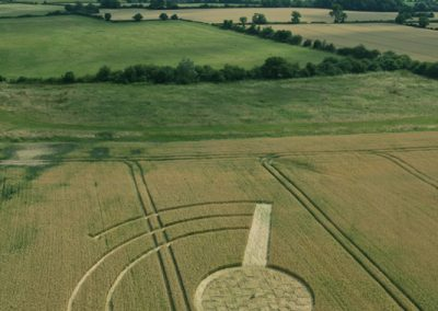 Welsh Way nr Barnsley, Gloucestershire   22nd July 2014   Wheat   L