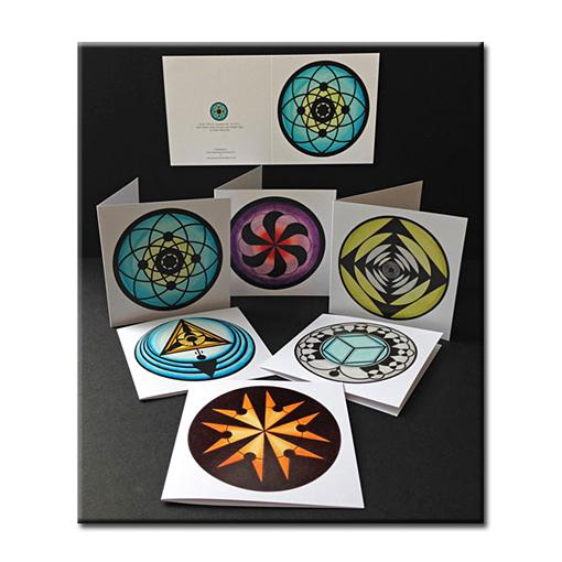 Crop Circle Greetings Cards Set 2013